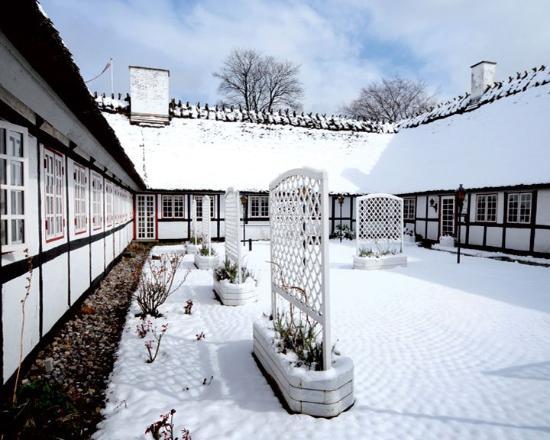 Hotel Nørrevang: Exterior Snow