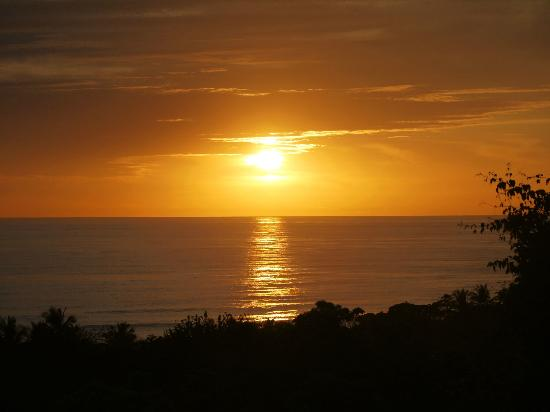Casa MarBella: One of many beautiful sunsets