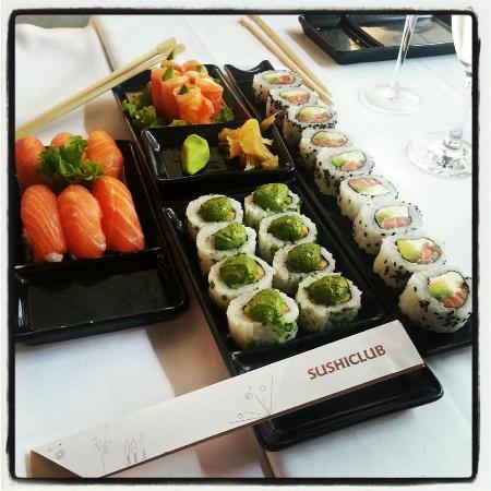 SushiClub Rosario: Veggie Roll.