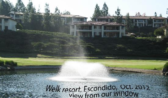 Welk Resort San Diego: fishing pond