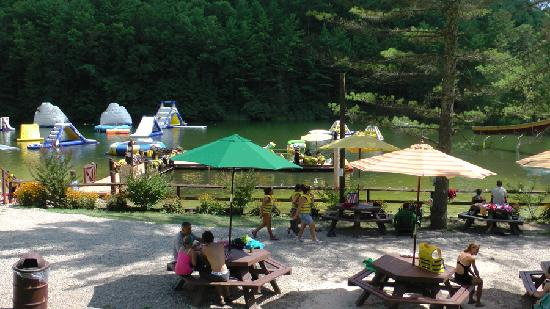 ACE Adventure Resort: ACE Adventure Park & Lake