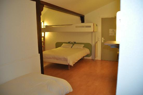 Ibis Budget Caen Herouville : La chambre type PMR
