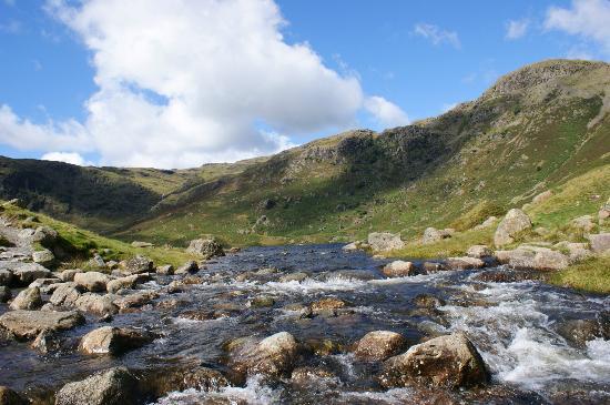 Helm Crag: Loughrigg Tarn