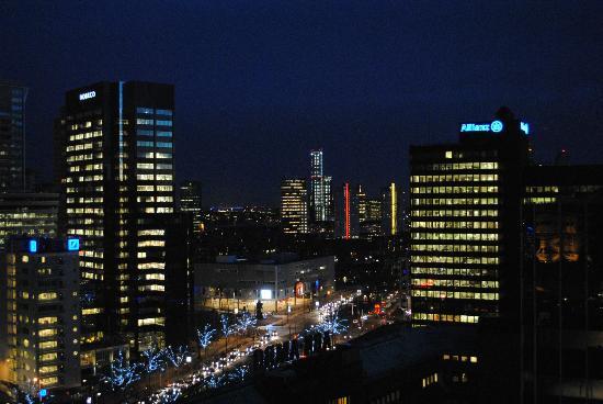 Urban Residences Rotterdam: Skyline dal balcone