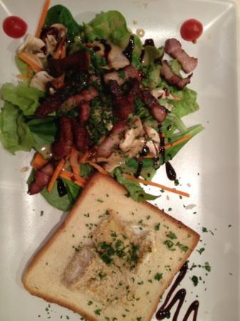 Hotel-Restaurant de l'Imperatrice: salade Sarladaises