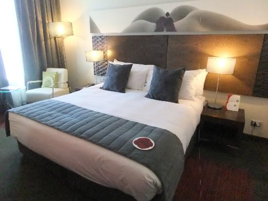 Crowne Plaza Johannesburg - The Rosebank: Very comfortable bed