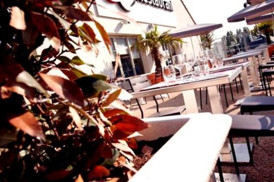 Campanile Gueret : Terrace