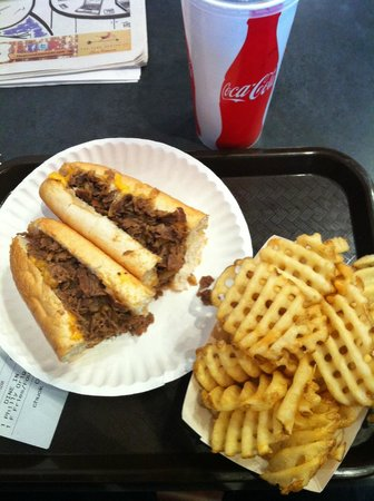 Bowling Green Oh Mr Spot S Philly Original With Waffle Fries