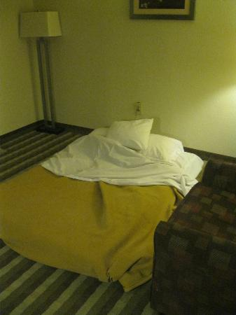 Quality Inn & Suites New York Avenue: Camping on the floor