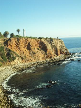 The Point Vicente Interpretive Center: View of Point Vicente Lighthouse