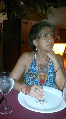 Sunset Marina Resort & Yacht Club: esperando la cena de langosta