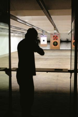 Colonial Shooting Academy: The weather is always good inside CSA.