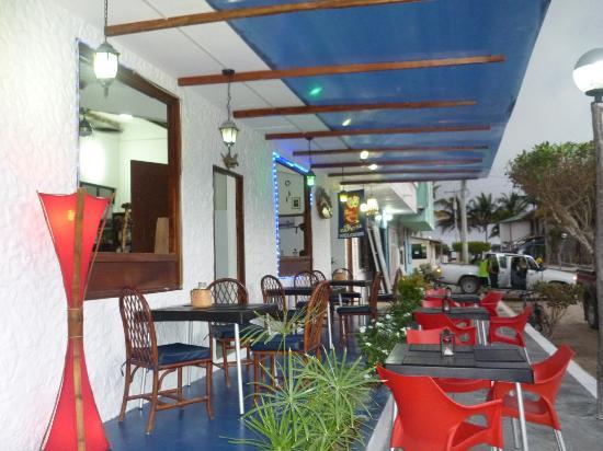 El Cafetal Galápagos: lateral