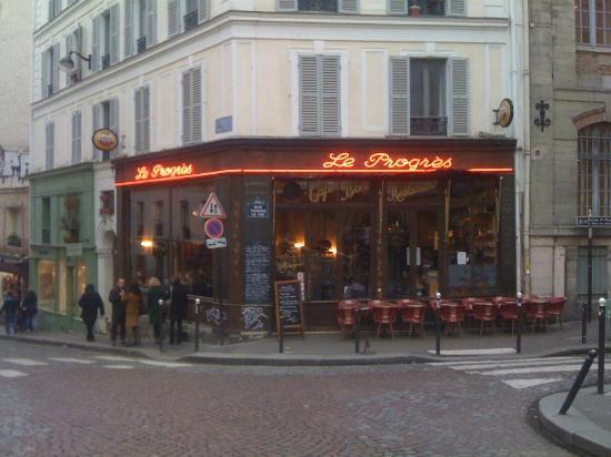 le progres paris 7 rue des 3 freres clignancourt restaurant