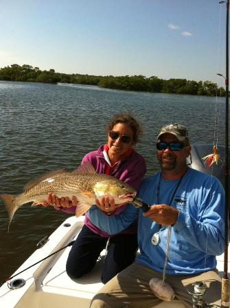 Captain Rapps Guided Fishing Adventures: Redfish!