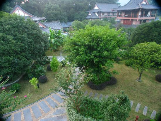 Guilinyi Royal Palace: Vista desde la habitación