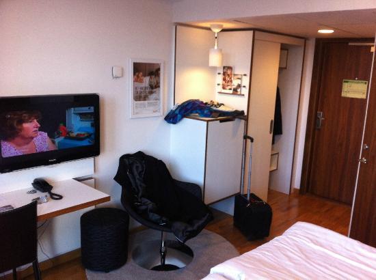 Scandic Norra Bantorget: Room