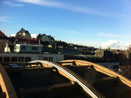 Scandic Norra Bantorget: The view from the 9th floor (R913 ?)