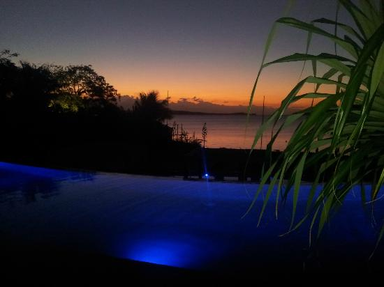 The Havannah, Vanuatu : View from our room