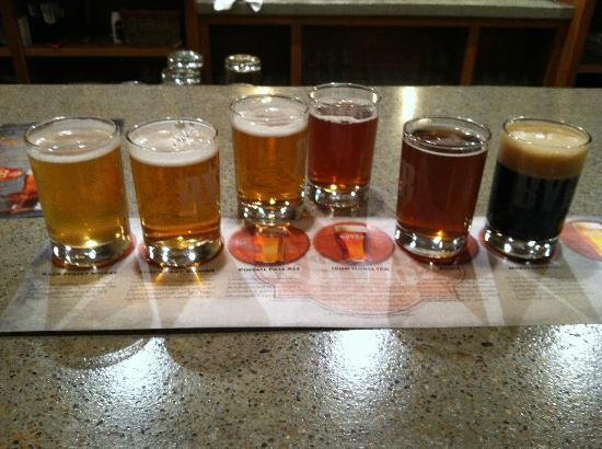 Boone Valley Brewing Company: Beer Sampler