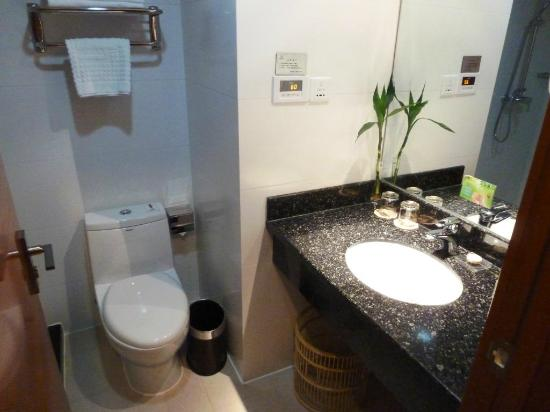 Huangshan Tiandu International Hotel : Bathroom
