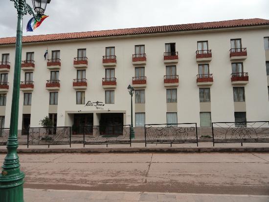 XIMA Cusco Hotel: Frente del Hotel