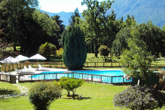 Hotel Pucon Green Park: Vista desde el balcon de la habitacion