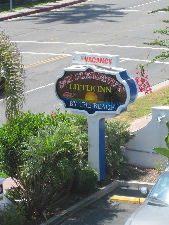 The Little Inn by the Beach: Sign to Look For