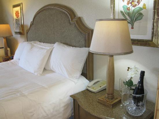 The Little Inn by the Beach: King with new white duvet