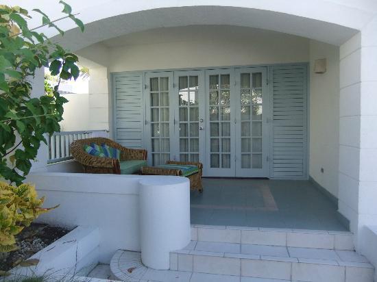 Savannah Beach Hotel: our verandah