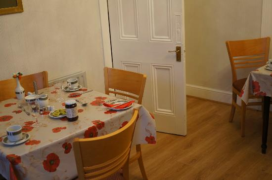Abberley House B&B : Dining room