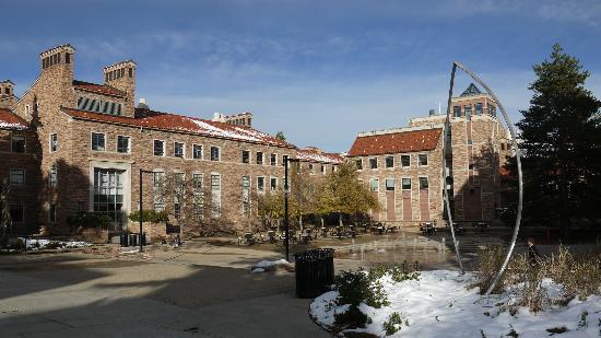 University of Colorado at Boulder: CU campus area