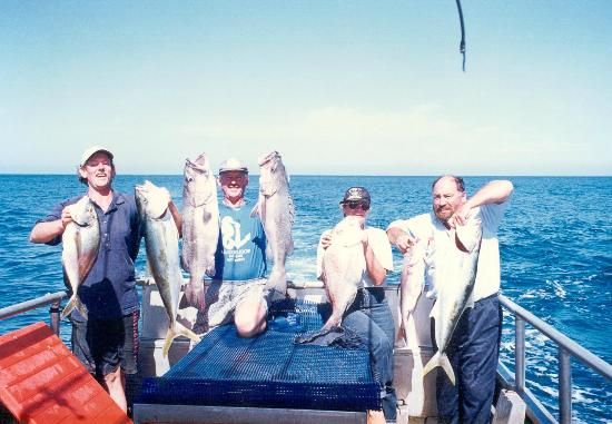 Ahipara Bay Motel: A good day fishing