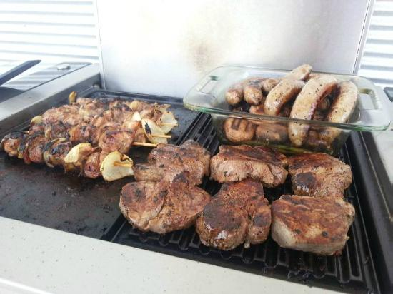 Marion Holiday Park: BBQ