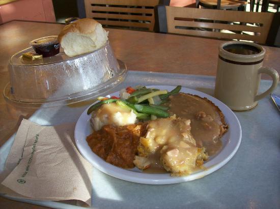 Yavapai Lodge Restaurant : Yummy $10 Thanksgiving dinner !