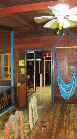 Casas La Selvatica: Porch