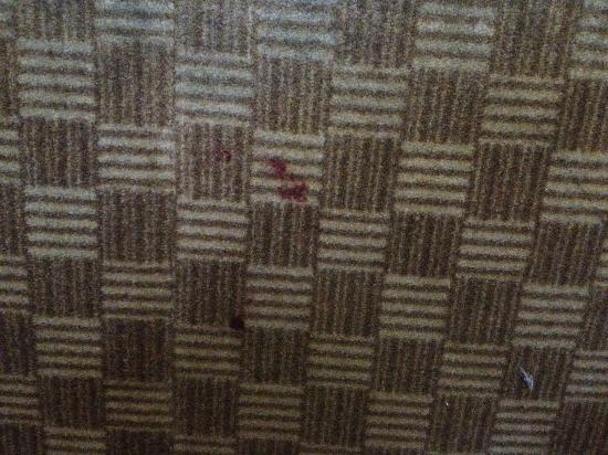Eurostars Zona Rosa Suites: Blood stain? Whatever...it was gross