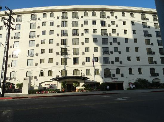 Residence Inn Beverly Hills: Fachada do Hotel