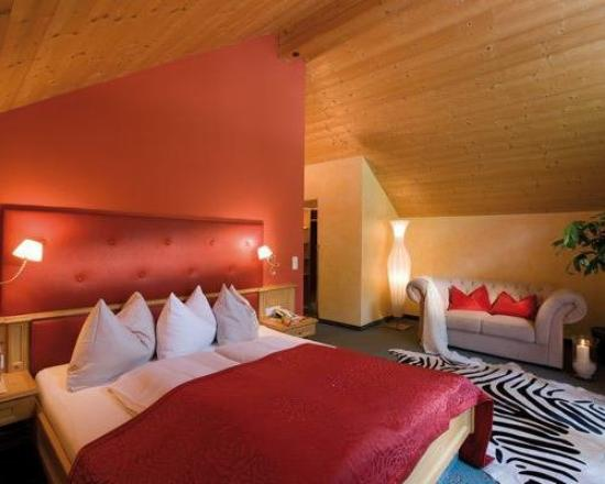Rooms and Suites at the Wellnesshotel Bergland
