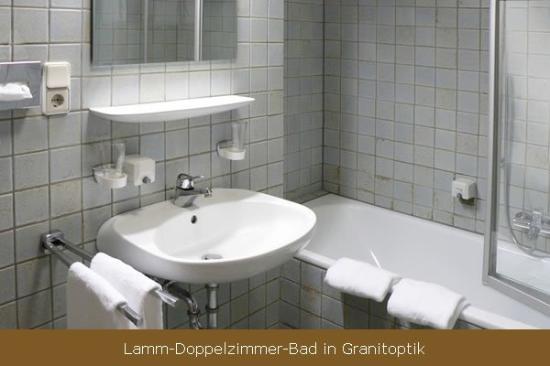 Minotel Zum Lamm: Bathroom