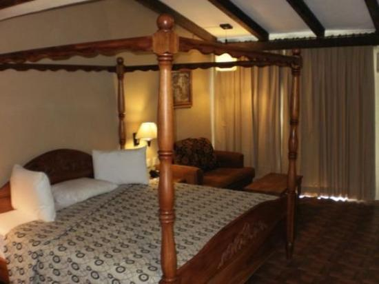 Hotel Plaza Palenque: Suite.