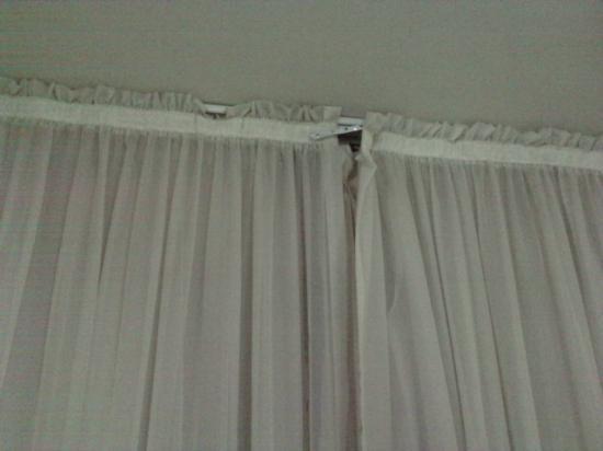 Recreo Hotel: las cortinas ni hablar