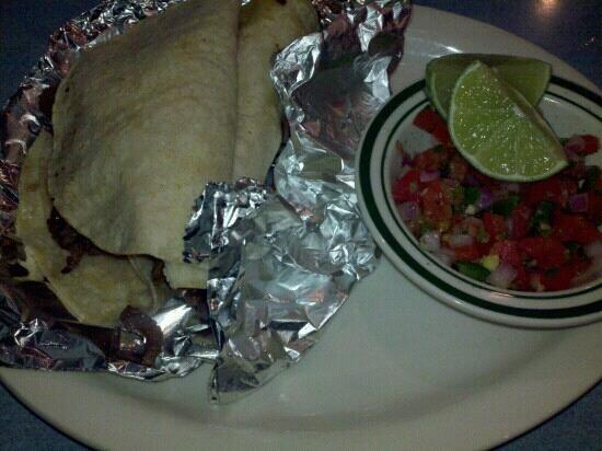 El Cerro Mexican Bar & Grill: Tacos Carne Asada!!