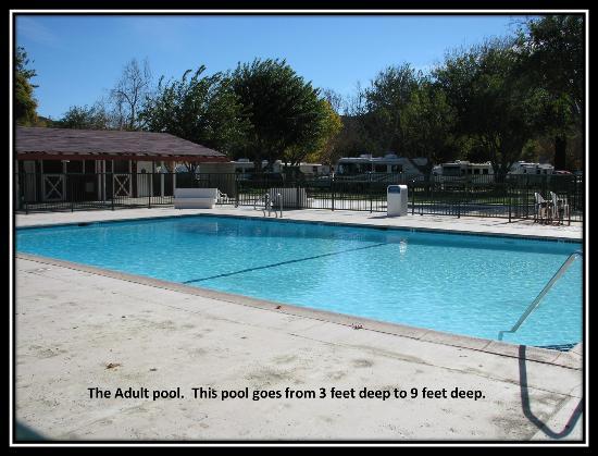 Valencia Travel Village : Adult Pool