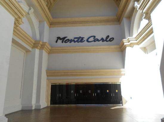 Monte Carlo Resort & Casino: Main Entrance