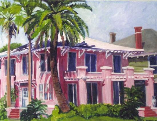 The Villa Bed Breakfast Galveston Tx