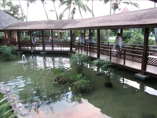 Grand Palladium Punta Cana Resort & Spa: Walkway to Ala Carte