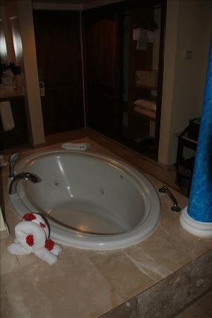 Grand Palladium Punta Cana Resort & Spa: Jacuzzi in room