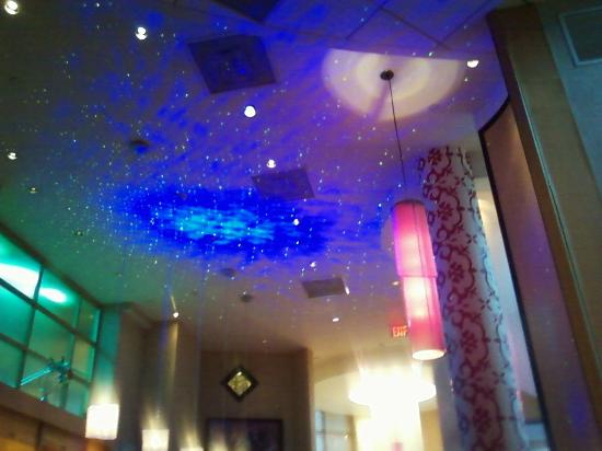 They play some sort of light show on the ceiling in the evening beacon bar and grill they play some sort of light show on the ceiling in aloadofball Gallery