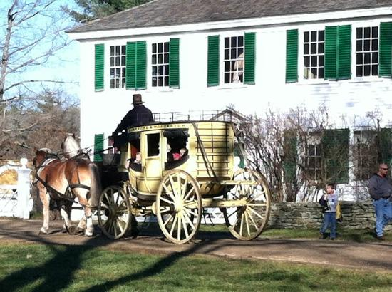 Old Sturbridge Village: Take a ride in the stagecoach
